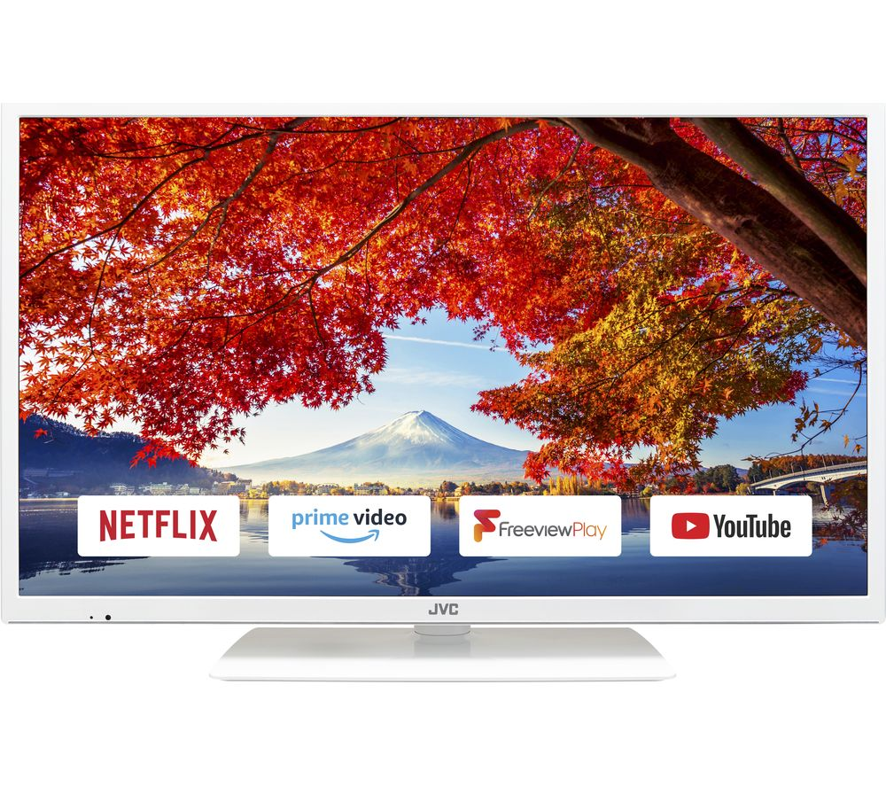 JVC LT32C691 32 Inch Smart LED TV White